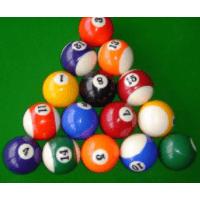 Aramith Kelly Pool Balls