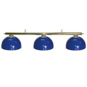 blue pool table lights