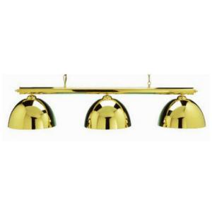 gold pool table lights