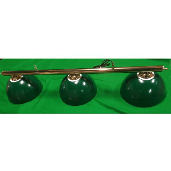 green pool table lights