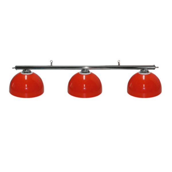 red pool table lights